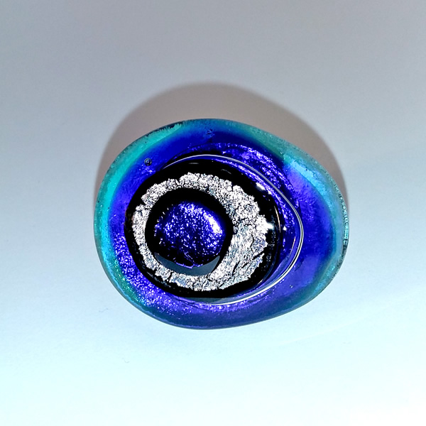 Mara Lombardi-NATPAB001K_1-GLASS WEAR-NATURE-PAON BLEAU-Ring Oval