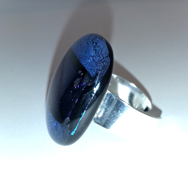 Mara Lombardi-NATPAB002K_2-GLASS WEAR-NATURE-PAON BLEAU-Ring