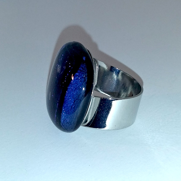 Mara Lombardi-NATPAB003K_2-GLASS WEAR-NATURE-PAON BLEAU-Ring