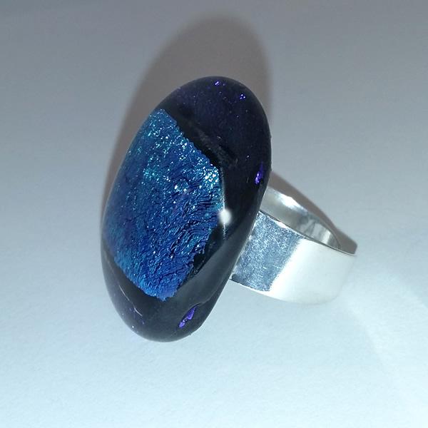 Mara Lombardi-NATPAB004K_2-GLASS WEAR-NATURE-PAON BLEAU-Ring