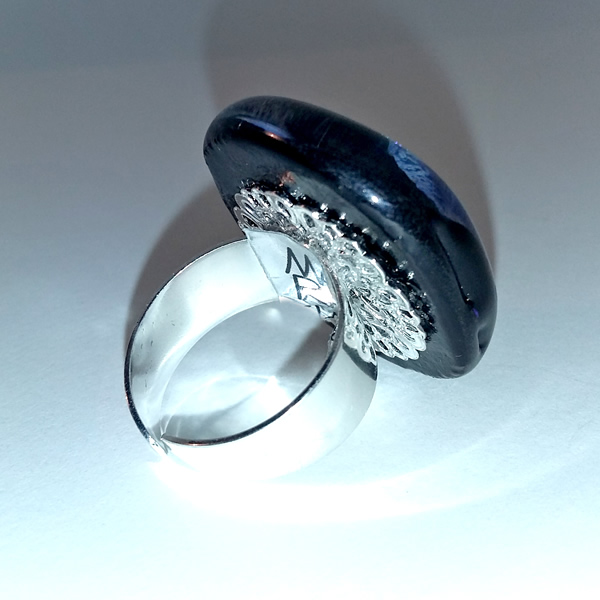 Mara Lombardi-NATPAB004K_3-GLASS WEAR-NATURE-PAON BLEAU-Ring