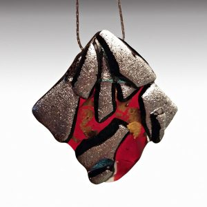 Mara Lombardi-NATVOL002J-GLASS WEAR-NATURE-VOLCANOES-Pendant