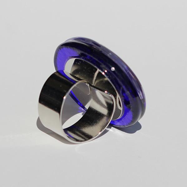 Mara Lombardi - OCEMED002K_3-GLASS WEAR-OCEANO MARE-MEDITERRANEAN-Ring Oval