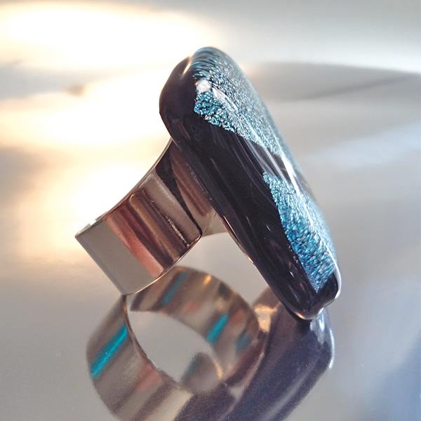 Mara Lombardi - URBLOT002K_2-GLASS WEAR-URBAN-LADY OF THE NIGHT-Ring