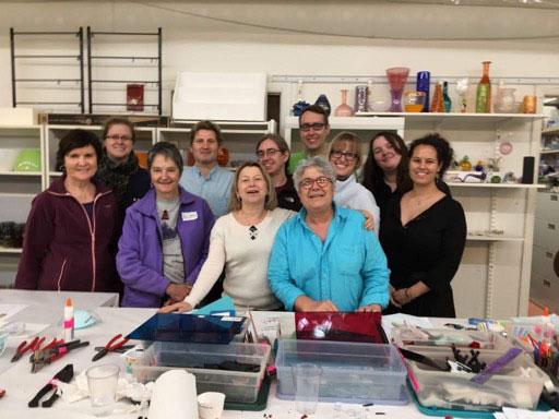 Workshop alla  NOCA GLASS SCHOOL – Scuola per la lavorazione del vetro di Cambridge