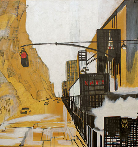 New York Bronx - Mara Lombardi - Dipinti